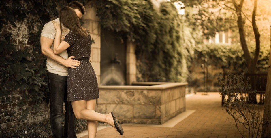 Youngster-couple-romantic-kiss